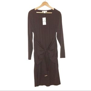 MICHAEL KORS Long Sleeved Tie Front Dress Sz 0X